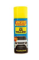 AA Yellow Commercial Van Colour Acrylic Paint Aerosol 400ml