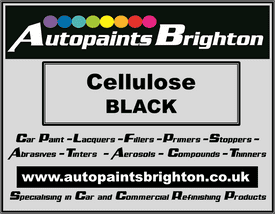 Black Cellulose Car Paint Matt/Satin/Gloss - Prices From