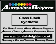 Black Gloss Synthetic Car Paint 5L Ready Made