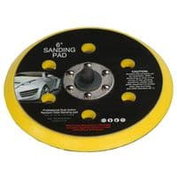 Fast Mover Sander Velcro Back Pad 150mm