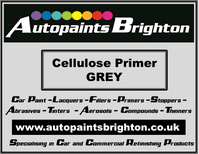 Grey Cellulose Industrial Primer (Various Sizes)