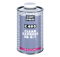 HB Body 495 Express Rapid Clearcoat SR 4:1 (1L/5L)