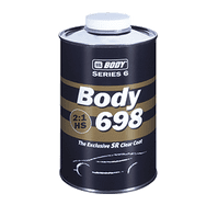 HB BODY 698 2K CLEARCOAT SR  (Various Sizes)