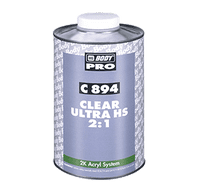 HB BODY CLEAR ULTRA HS C894 (Various Sizes)