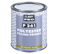 HB BODY P261 POLYESTER FILLING PRIMER 1L + ACT