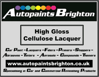 HIGH GLOSS Cellulose Clear Lacquer (Various Sizes)