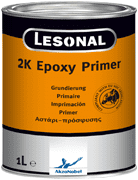 Lesonal 2K Epoxy Primer 1L With 500ml of Epoxy Hardener