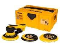 Mirka DEROS 5650CV 125/150mm 5.0mm Electric Orbital Sander in Heavy Duty Yellow Case
