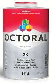 Octoral H13 2k hardener very fast PRICES FROM