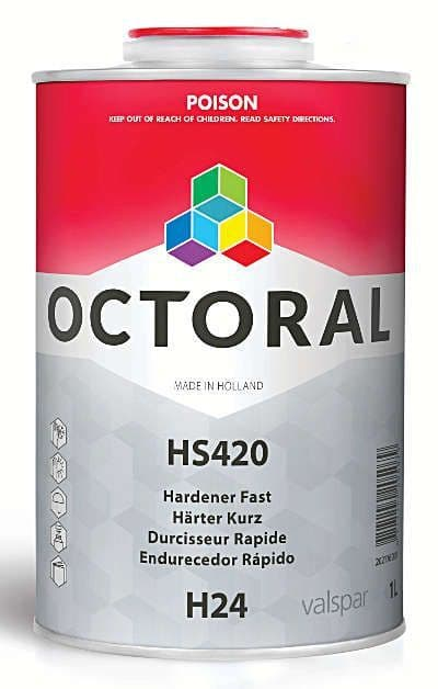 Octoral H24 HS420 Fast Hardener 500ml / 1L/ 2.5L prices from