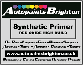 Red Oxide High Build Synthetic Primer (Various Sizes)
