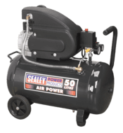 Sealey Compressor 50ltr Direct Drive 2hp Model No. SAC5020E