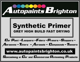 Synthetic High Build Primer Grey Fast Drying (Various Sizes)