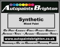 Synthetic Paint Mixed To Colour Code Prices From