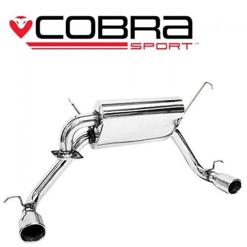Cobra Sport Toyota MR2 Roadster Cat Back Exhaust (Dual Exit) TY07