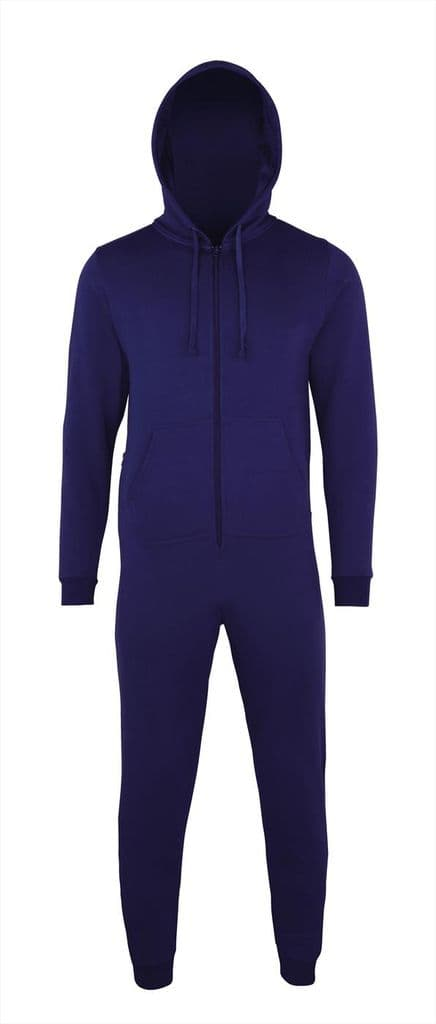 ADULT ALL IN ONE ONSIE WITH EMBROIDERED LOGO