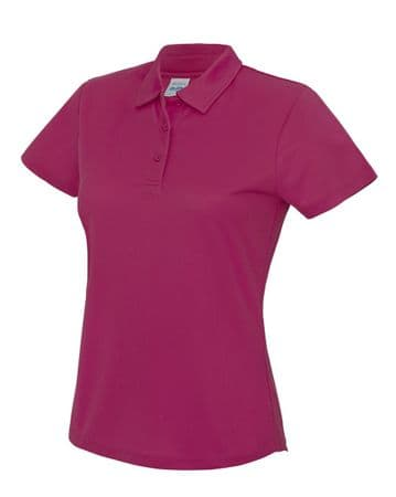 ADULT POLO SHIRT WITH EMBROIDERED LOGO