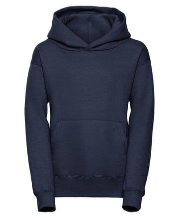 BOWER PRIMARY SCHOOL NAVY PULLOVER HOODIE WITH LOGO