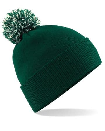 C.R.F.C ADULT BEANIE WITH EMBROIDERED LOGO