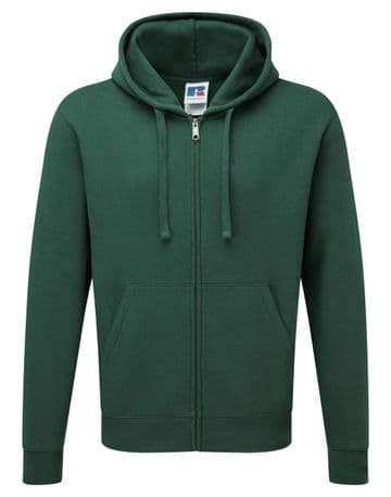 C.R.F.C ZIPPED HOODIE WITH EMBROIDERED LOGO