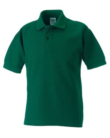 C.R.F.C. KIDS POLO SHIRT WITH EMBROIDERED LOGO