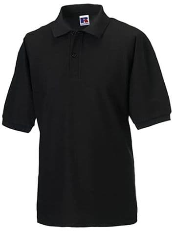 CAITHNESS ARCHERS ADULT POLO SHIRT WITH EMBROIDERED LOGO
