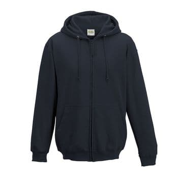 CAITHNESS ARCHERS ADULT ZIPPED HOODIE WITH EMBROIDERED LOGO