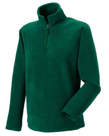 CAITHNESS RDA ADULT 1/4 ZIP FLEECE WITH EMBROIDERED LOGO