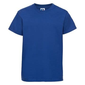 CROSSROADS PRIMARY SCHOOL ROYAL  BLUE T- SHIRT WITH LOGO