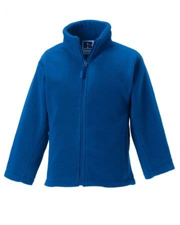 EAST END FC ROYAL FLEECE WITH EMBROIDERED LOGO
