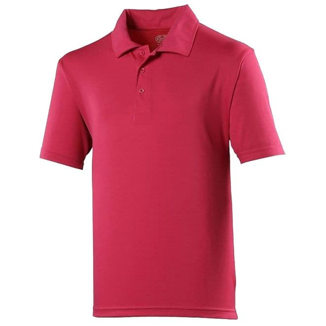 KIDS COOL POLO WITH EMBROIDERED LOGO