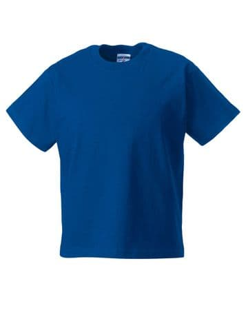 MILLER ACADEMY PRIMARY SCHOOL  ROYAL BLUE  T- SHIRT WITH LOGO