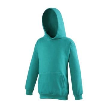NEWTON PARK PRIMARY SCHOOL JADE PULLOVER HOODIE WITH LOGO