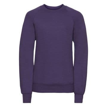 NEWTON PARK PRIMARY SCHOOL PURPLE SWEATSHIRT WITH LOGO