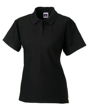 NRG LADIES FITTED POLO WITH EMBROIDERED LOGO