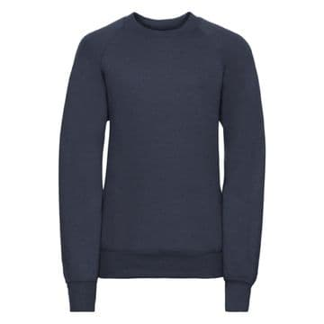 THRUMSTER PRIMARY SCHOOL CLASSIC NAVY SWEATSHIRT WITH LOGO