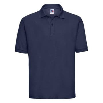 THRUMSTER  PRIMARY SCHOOL NAVY POLO SHIRT WITH LOGO