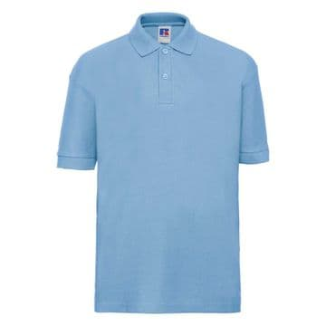 WATTEN EARLY LEARNING CENTRE  SKY BLUE POLO SHIRT WITH LOGO