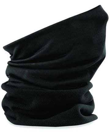 WICK ACADEMY EMBROIDERED BLACK SNOOD