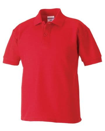 WICK GROATS FC KIDS POLO WITH EMBROIDERED LOGO