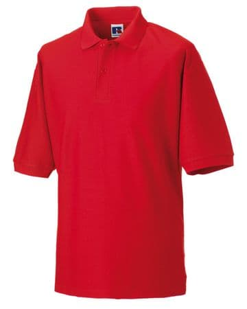 WICK GROATS  FC MALE  POLO SHIRT WITH EMBROIDERED LOGO