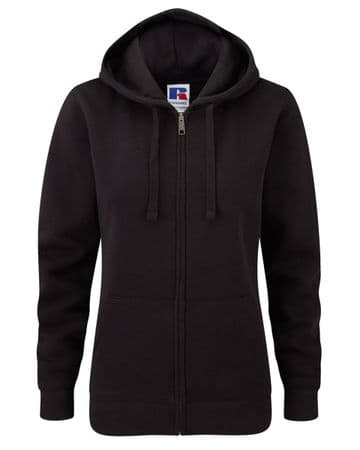 WICK RBLS PIPE BAND LADIES ZIPPED HOODIE WITH EMBROIDERED LOGO