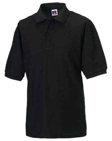 WICK RBLS PIPE BAND MENS POLO SHIRT WITH EMBROIDERED LOGO