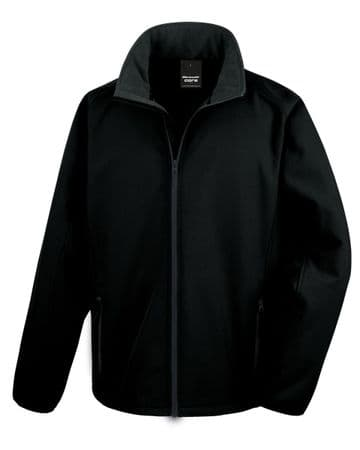 WICK RBLS PIPE BAND SOFTSHELL JACKET  WITH EMBROIDERED LOGO