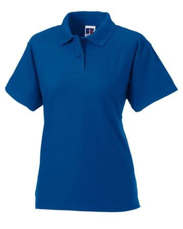 WICK THISTLE FC LADIES POLO  WITH EMBROIDERED LOGO