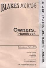 Blakes Taylor Cooker Hand Book