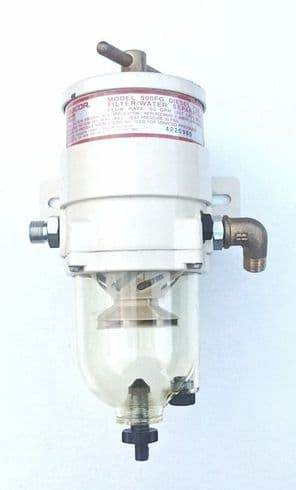 Racor 500FG  Fuel Filter/Water Separator (10 Micron / See-Through Bowl)
