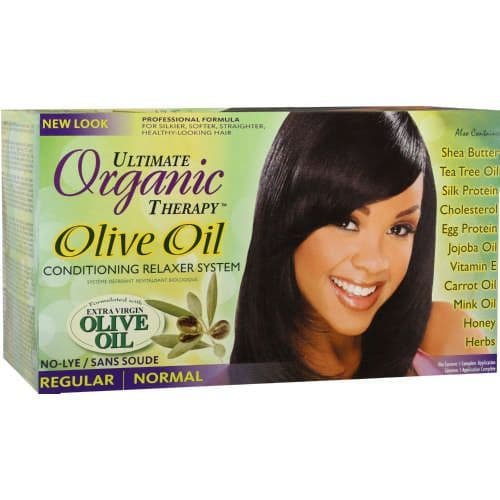 Africa's Best Organics Olive Oil Conditioning Relaxer System