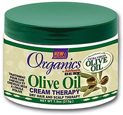 Africa's Best Organics Olive Oil Cream Therapy 7.5oz