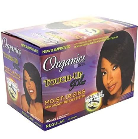 Africa's Best Organics Touch-Up Plus Organic Conditioning No-Lye Relaxer System Regular